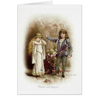 Hamlet and Ophelia, Card