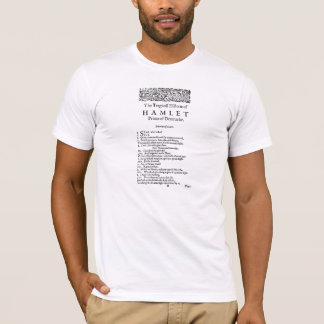 Hamlet First Page T-Shirt