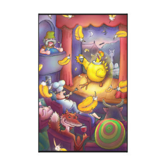 Hamlet - Prince of Chickens Canvas Print
