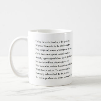 Hamlet Soliloquy Coffee Mug