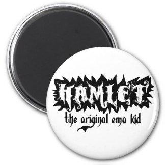 Hamlet - The Original Emo Kid 6 Cm Round Magnet