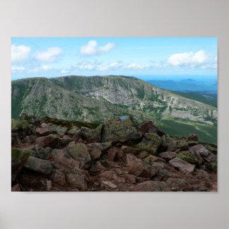 Hamlin Ridge, Kathadin, Maine Poster