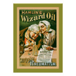 Hamlin's Wizard Oil ~ Vintage Advertising Print