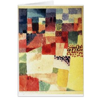 Hammamet by Paul Klee Card