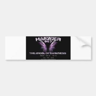 Hammer 96.7 Angel Of Darkness Bumper Sticker