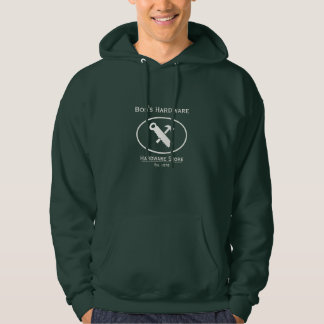 Hammer and Saw Design Hoodie