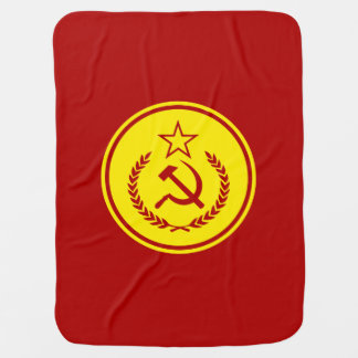 Hammer and Sickle Badge Blankets