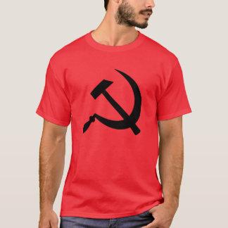 Hammer and sickle (black) men's t-shirt