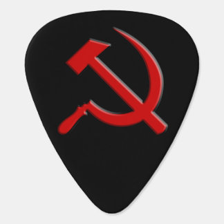 Hammer and Sickle Guitar Pick