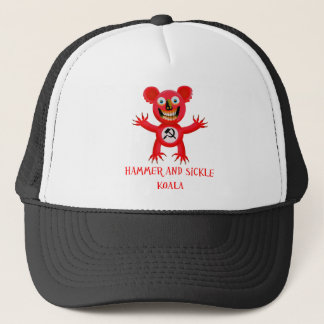 HAMMER AND SICKLE KOALA TRUCKER HAT