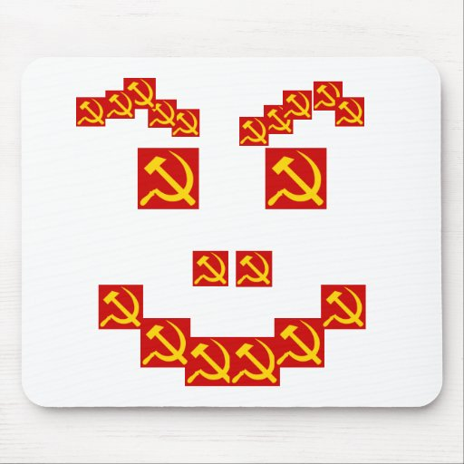 Hammer and sickle mouse pads