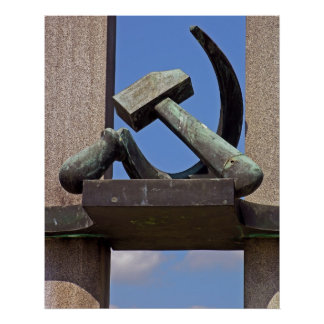 Hammer and Sickle Poster