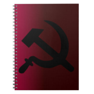 Hammer and Sickle Spiral Notebook