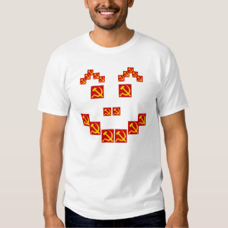 Hammer and sickle tee shirt