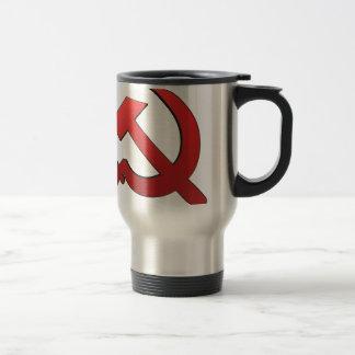 Hammer and stickle travel mug