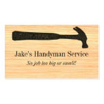 Hammer Construction Business Card