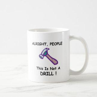 hammer full coffee mug