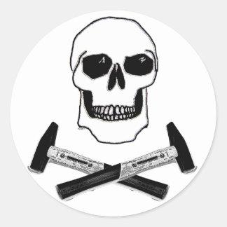 Hammer Head Classic Round Sticker