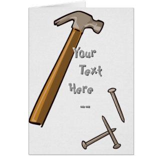 Hammer Nails Card