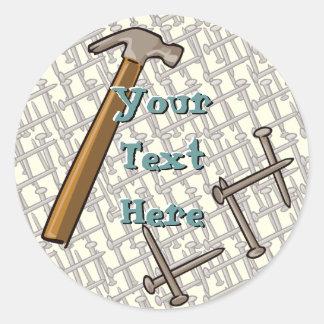 Hammer & Nails Sticker