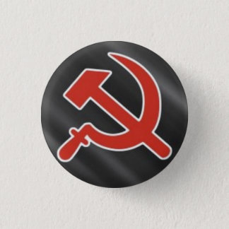 Hammer & Sickle 3 Cm Round Badge