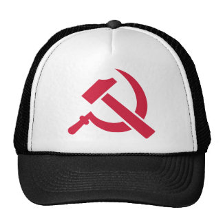 Hammer Sickle Trucker Hat