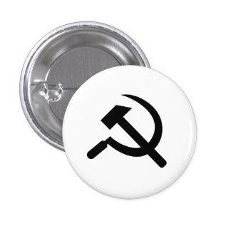 Hammer Sickle' Pictogram Button