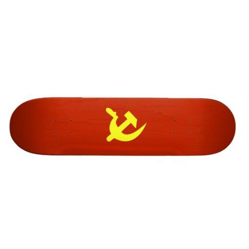 Hammer & Sickle Custom Skate Board