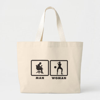 Hammer Throw Large Tote Bag