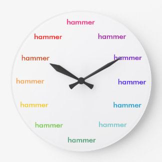 Hammer time clock