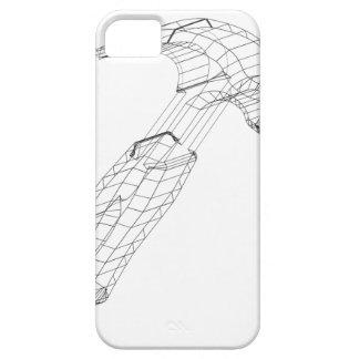 hammer wireframe iPhone 5 case