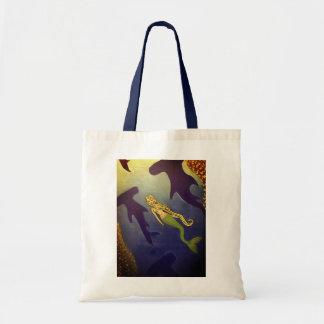 hammerhead mermaid tote bag