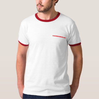 HammerHead Red Ringer Tee with Logo