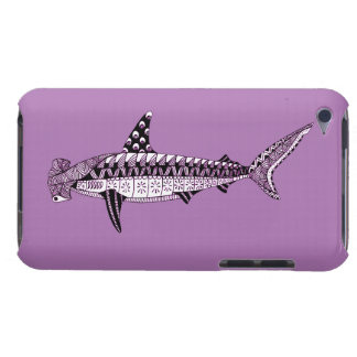 Hammerhead Shark Barely There iPod Cases