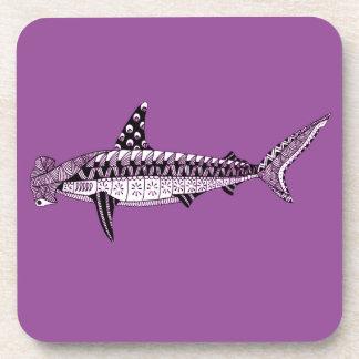 Hammerhead Shark Drink Coaster