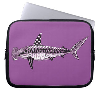 Hammerhead Shark Laptop Sleeve