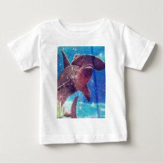 Hammerhead Shark Painting Baby T-Shirt