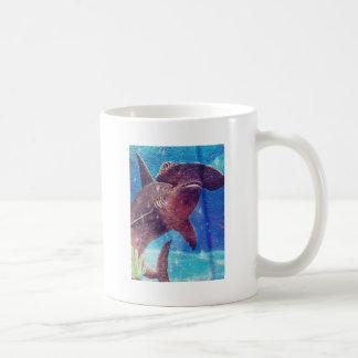 Hammerhead Shark Painting Coffee Mug