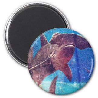 Hammerhead Shark Painting Magnet