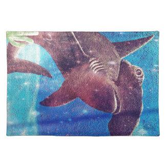 Hammerhead Shark Painting Placemat