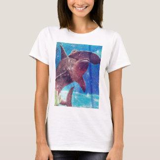 Hammerhead Shark Painting T-Shirt