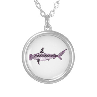 Hammerhead Shark Silver Plated Necklace