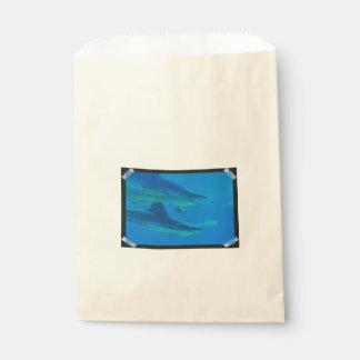 Hammerhead Sharks Favour Bags