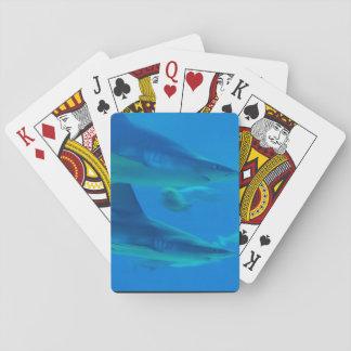 Hammerhead Sharks Poker Cards