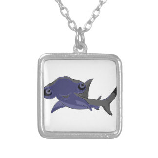 Hammerhead Silver Plated Necklace