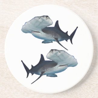 HAMMERHEADS BY TWO BEVERAGE COASTERS