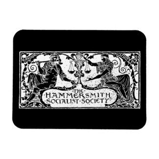 Hammersmith Socialist Society black magnet