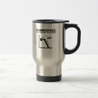 hammerspace: the other dimension of hammertime. stainless steel travel mug