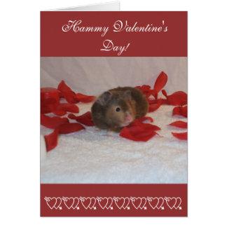 Hammie Valentine's Day Card