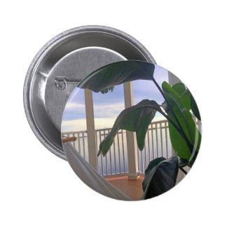 Hammock In Paradise 6 Cm Round Badge